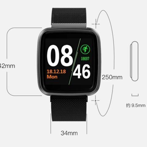Relógio Smartwatch Colmi S8 Pulseira de Aço - Foto 2