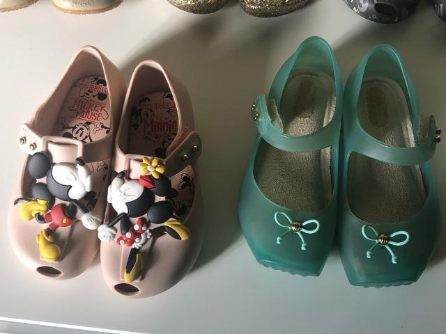 Mini Melissas Originais Tam. 22 e Sandalia Toke Couro Tam. 24 - Foto 4