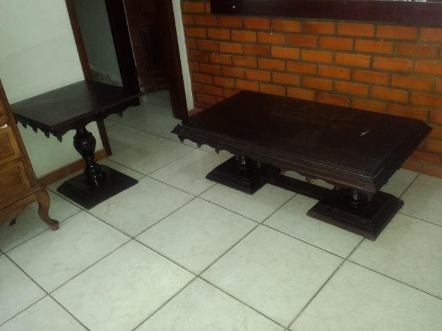 Mesa de Centro e Lateral (conjunto)