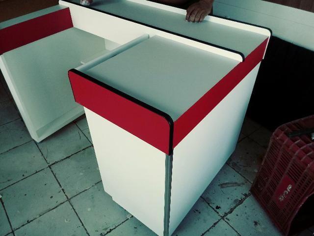 Fabricamos balcão caixa