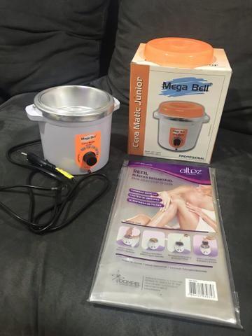 MEGA BELL aquecedor de cera profissional