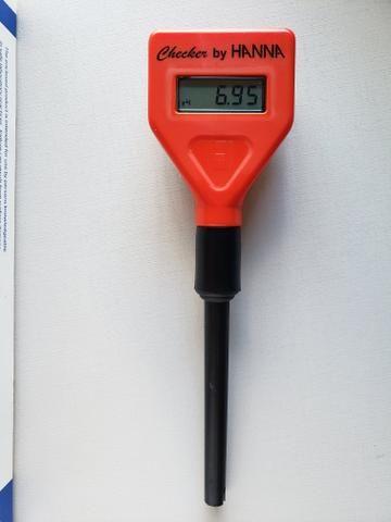 Medidor pH pHmetro Checker HANNA Importado da Europa