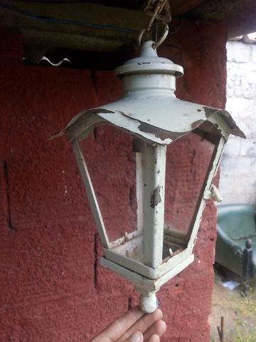 Lustre arandela Luminária colonial