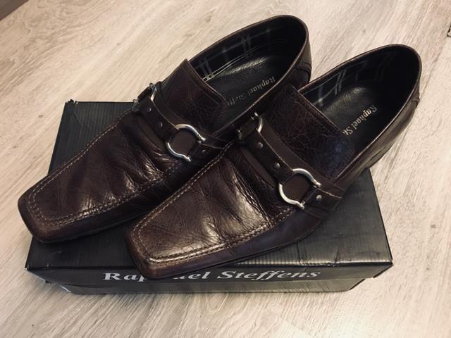 Sapato em couro legítimo Raphael Steffens