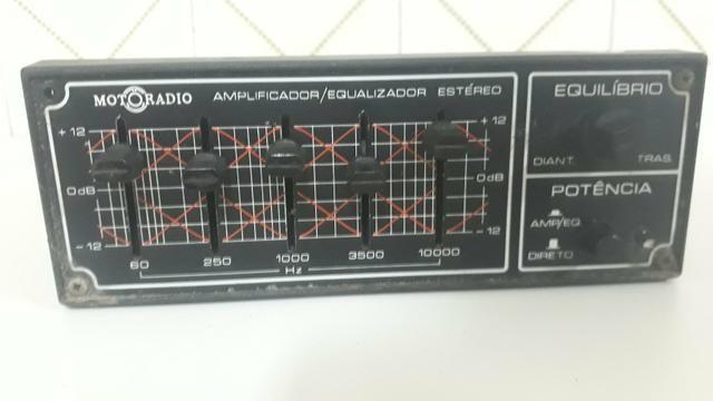 Equalizador e Amplificador Motoradio