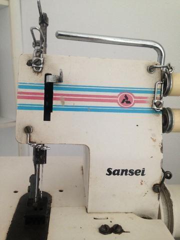Maquina de costura industrial galoneira sansei