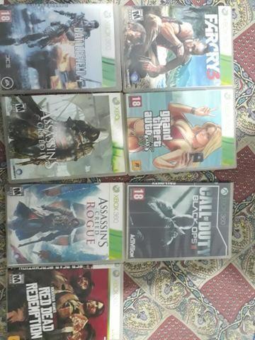 Vendo Jogos de Xbox 360 desbloqueado