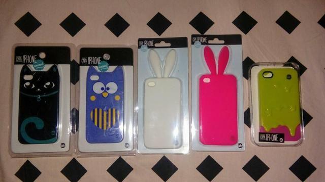 5 capinha de silicone iphone 4 e4s