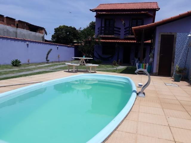 Duplex impecável com 3 qts piscina e churrasqueira em Jaconé - Saquarema/RJ - Ac Carta