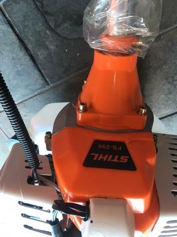 Roçadeira Stihl 290 profissional gasolina