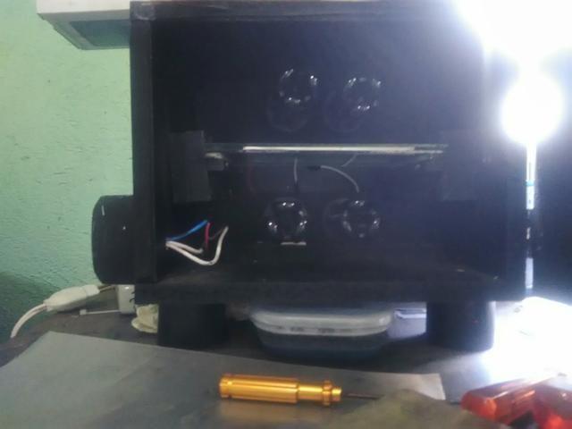 Maquina de Carimbo + produtos