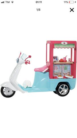 Vendo linda moto da Barbie. LACRADA