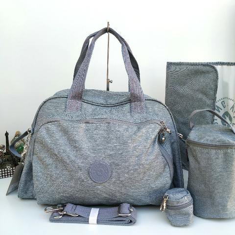 0abd3f5ef Bolsa Maternidade Kipling Camama Jeans - Original - Nova - Envio para todo  o Brasil