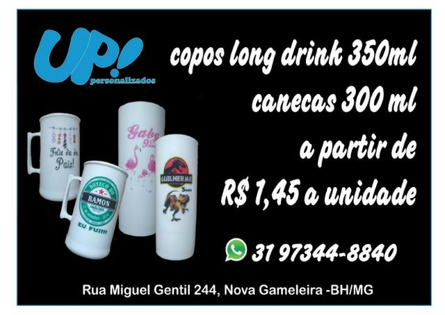 ce1a1a18e Copo Long Drink Personalizado - Serviços - Centro