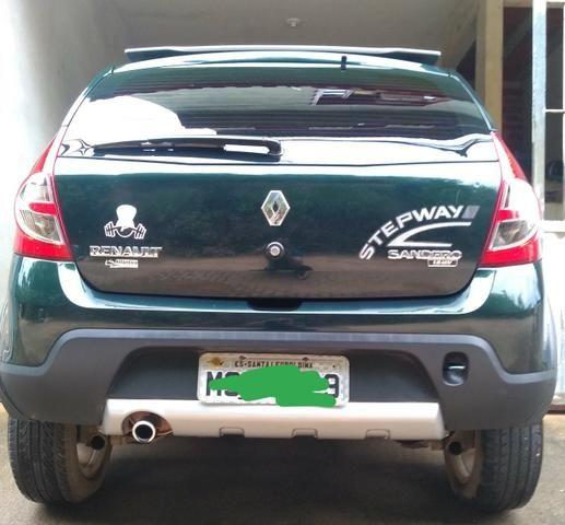 Sandero step way vendo/ troco por sedan/Civic/4008/fluence/corolla - Foto 4