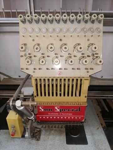 Vendo máquina de bordado Sun special - Foto 3
