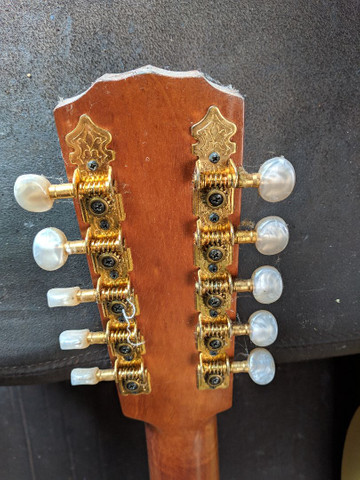 Viola Queluz 10 cordas, feita em rádica - Foto 6