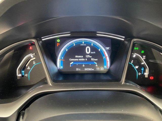 Honda Civic Touring 1.5 Turbo CVT 2019 C/ Teto - Foto 14