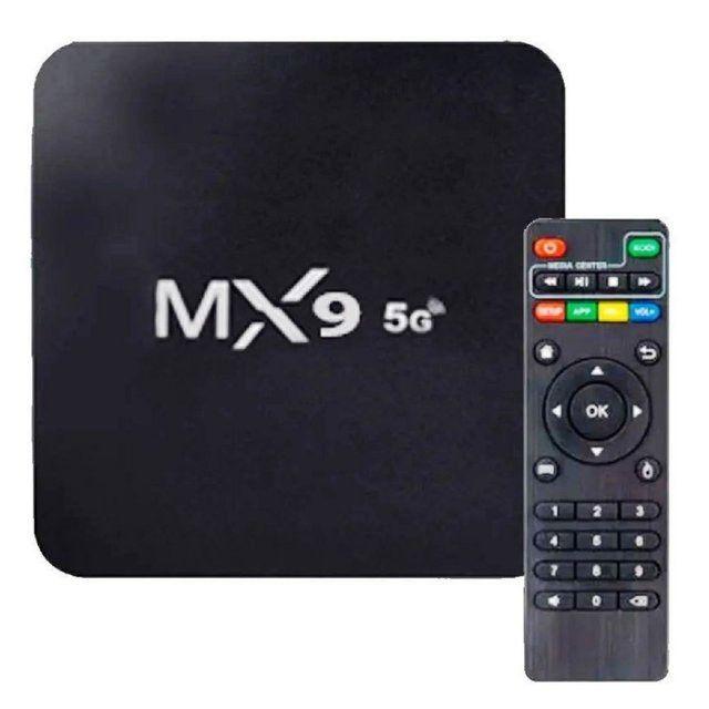 Conversor Smart TV Box Mx9 4K Dual Band 4gb de ram 32gb