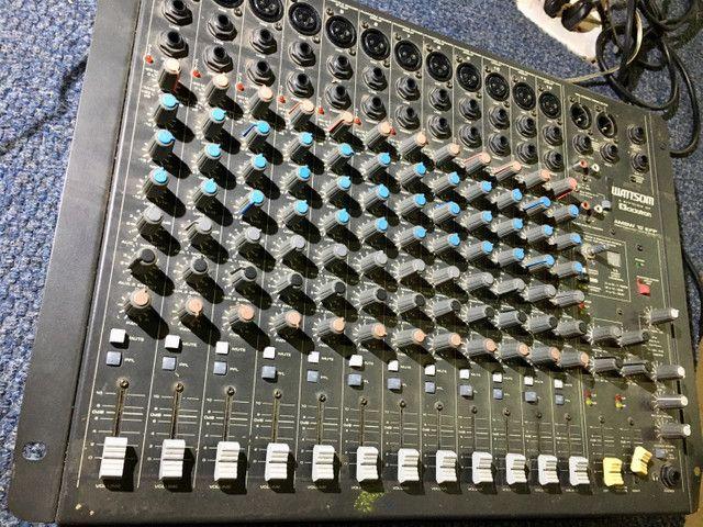 Mesa 12 canais efeitos mixer Watsom AM8W - Foto 3