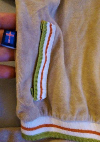 Conjunto Plush T.2 anos seminovo jaqueta e calça - Foto 4