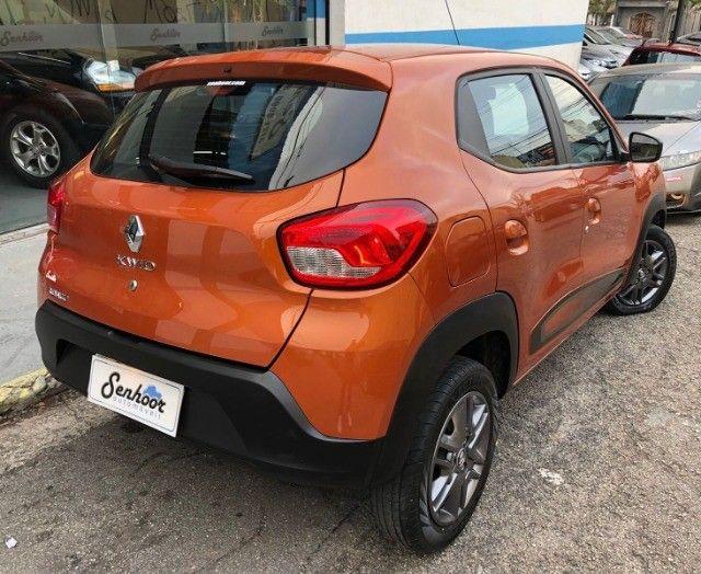 Renault Kwid 1.0 Intense Laranja Ano 2018 - Foto 4