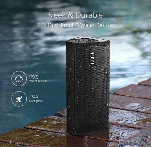 Caixa Som Portátil Mifa A10 Bluetooth 10w - MIFA - À Prova D'água - Black,<br><br>