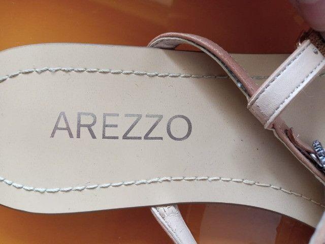 Sandálias Arezzo - 37 - Usada uma única vez! - Foto 4