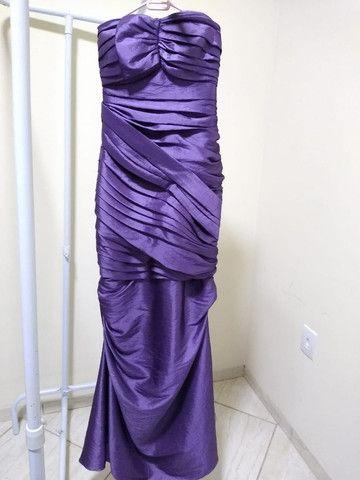 Vestido de Festa Lilas - Dolps - Foto 2