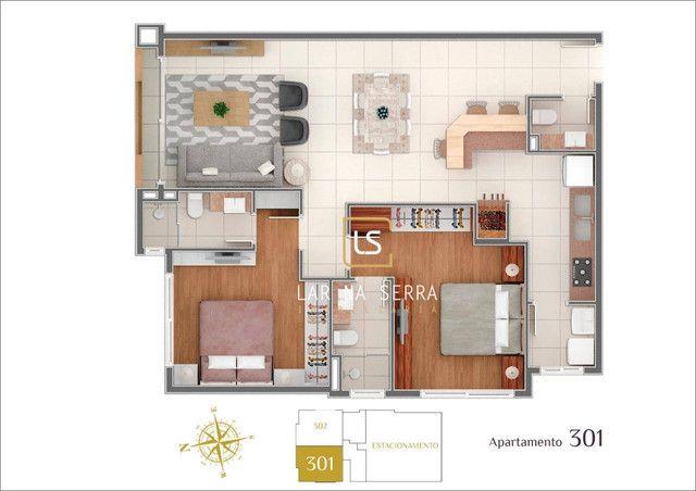 Apartamento à venda, 107 m² por R$ 728.260,47 - Lagos Do Bosque - Gramado/RS - Foto 15