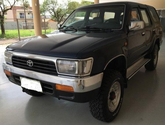 Toyota Hilux 94 SW4 Tração 4x4 V6 Automática Couro Teto Ar Só 29.990 Troco/Passo Cartão