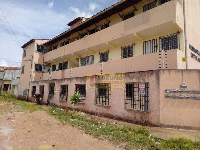 Apartamento com 2 dormitórios para alugar, 55 m² por R$ 390,00/mês - Siqueira - Fortaleza/