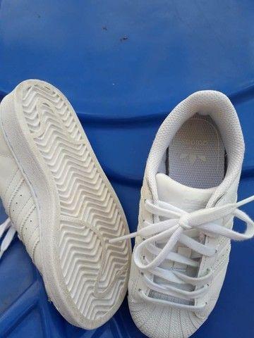 Adidas Superstar Infantil - Foto 3
