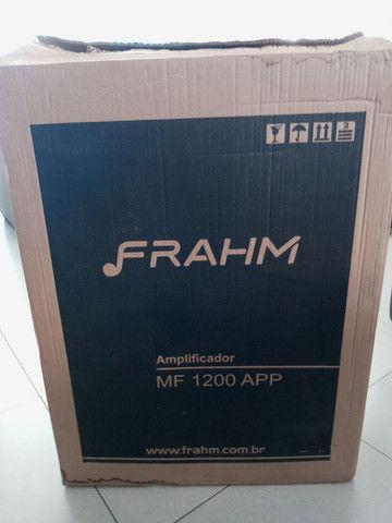 Caixa anplificada frahm 1200 wtts  - Foto 3