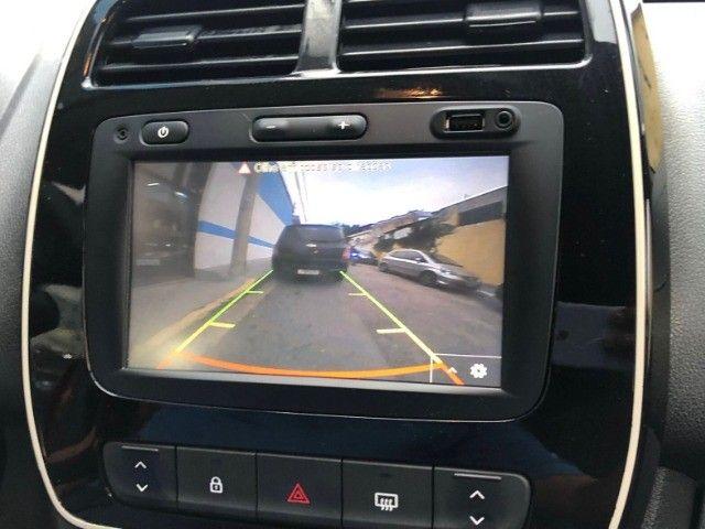Renault Kwid 1.0 Intense Laranja Ano 2018 - Foto 15