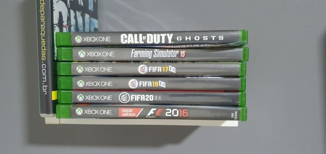 Xbox one + 2 controles + 6 jogos - Foto 4