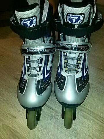 Patins Traxart Rollingstar + protetores