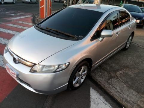 Honda Civic LX Gasolina Aut. 1.8 Flex Baixo Km