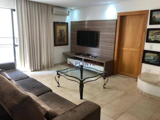 Apartamento duplex com 4 quartos, 320 m² - setor nova suiça - armarios - Foto 17