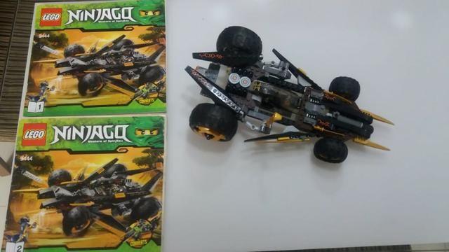 Lego Ninjago 9444 - Masters of Spinjitzu Cole's Tread Assault