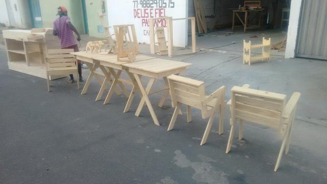 Balcão mesas poltronas - Foto 5