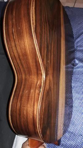 Vendo violao di giorgio impecacel.reliquia jacaranda - Foto 3