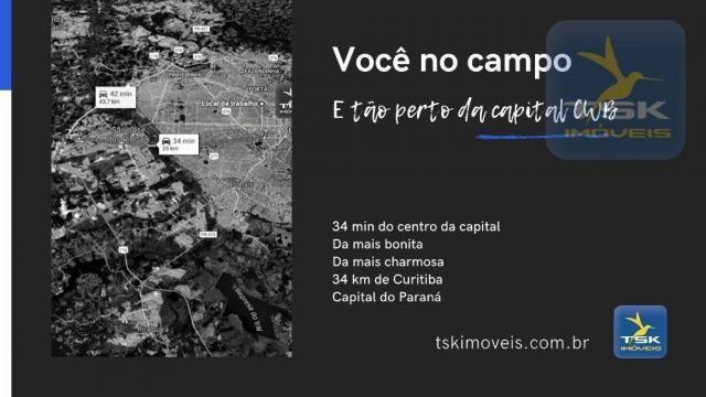 CH0369 Chácara à venda 86500 m² por R$ 1.850.000 São José dos Pinhais/PR 34 min centro Cur - Foto 2