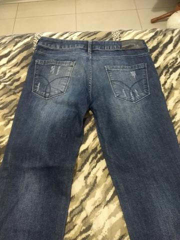 Calça Jeans Calvin Klein Original 44 - Foto 3