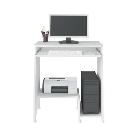 Mesa para computador na cor branca pixel - Foto 3