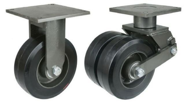 """Rodas 12""""x 4"""" para 1200 kg usadas - Foto 2"""