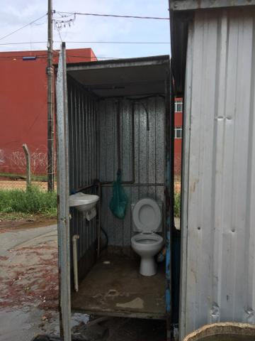 Container e banheiro móvel para sua obra - Foto 4