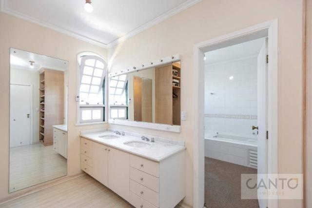 Casa com 5 dormitórios à venda, 439 m² por r$ 2.100.000,00 - santo inácio - curitiba/pr - Foto 10
