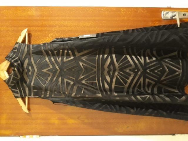 Vestido M Festa Preto