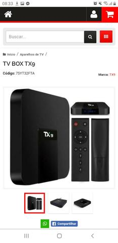 Tv box atacado e varejo - Foto 4